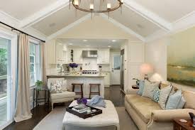 Open Kitchen Living Room Design Stunning Paneling Ideas Family Room And Open Conce 1241x827