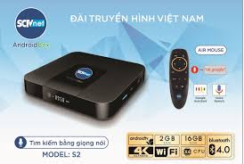 SCTV Android Box Cao cấp S2 2020 đỉnh cao công nghệ ( HĐH Android TV 9,  Điều khiển giọng nói 1 chạm, chuột bay , Kết nối Bluetooth không dây, Hình  ảnh