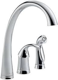 Delta Faucet 4380 DST Pilar Single Handle Kitchen Faucet with