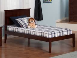 Alanna Platform Bed with Open Foot