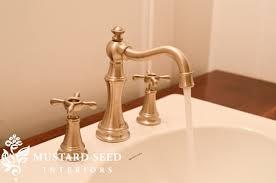 satin nickel bathroom faucets: brass brushed nickel faucet brass