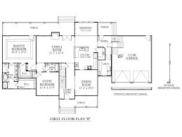 one story house plans with bonus room over garage house for house plans one story with