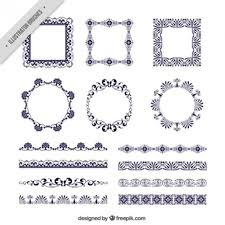 victorian frame design. Several Victorian Frames And Borders Frame Design