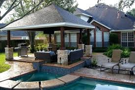free standing patio cover. Free Standing Patio Freestanding Cover In Missouri City Hip Roof G