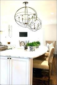 kitchen table lighting ideas chandelier modern farmhouse dining room full size of crystal