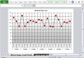 Free Excel Template For Tracking Blood Sugar Levels Blood