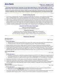 Police Officer Resume Examples Police Officer Resume Templates Awesome Sample Resume Police 71