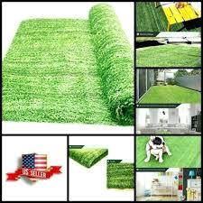 grass area rug details about fake grass mat area rug outdoor artificial indoor turf green carpet