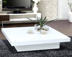 white modern coffee table low white coffee table with storage white gloss modern coffee table
