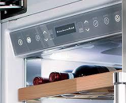kitchenaid wine cooler. dual temperature zone kitchenaid wine cooler