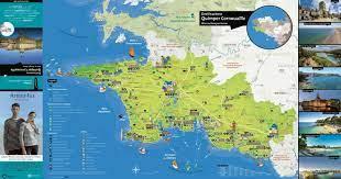 Calaméo - Cartina turistica e patrimoniale Destinazione QUIMPER Cornovaglia