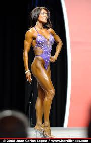 Bernadette Galvan - onepiece - 2008 IFBB Figure, Fitness and Ms ...