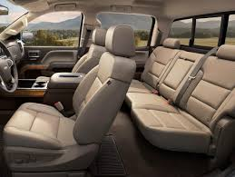 chevy silverado 1500 interior leather seats