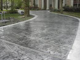 stained stamped concrete patio. Stamped Concrete Stained Patio N