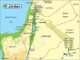 syrian desert physical map. Delighful Syrian Jordan Physical Map And Syrian Desert R