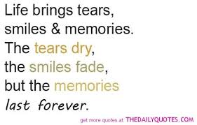 inspirational life memories quotes and sayings images