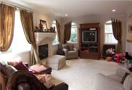 How To Decorate A Long Narrow Living Room With Corner Fireplace
