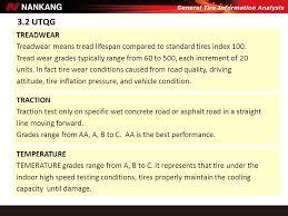 Utqg Treadwear Rating Chart Www Bedowntowndaytona Com