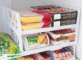 refrigerator organization freezer shelves
