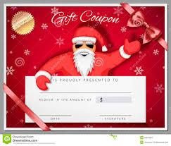 santa gift certificate template resume builder santa gift certificate template certificate template for microsoft word gift card gift certificate
