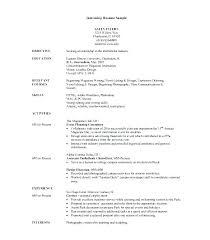 Resume Samples For Students Resume Examples For Students Resume ...