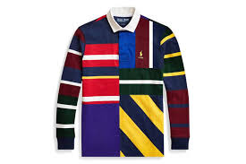 wtb wtb palace x polo ralph lauren multi coloured rugby top size l