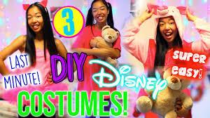 Homemade Disney Costume Ideas Diy Disney Costumes For Halloween3 Easy Last Minute Halloween