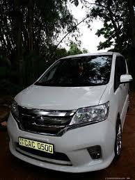 Sri Lanka Van Rentals/Hire - Toyota Voxy Luxury SUV for hire