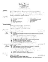 Supervisor Resume Skills Stunning Resume Template For Supervisor Position Commily
