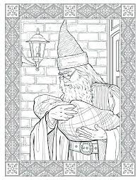 Coloring Pages Harry Potter Coloring Page Harry Potter Color Pages