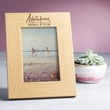personalised photo frame adventures of gifts for her