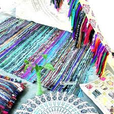 woven rag rug tutorial