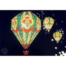 diy hot air balloon lamp shade