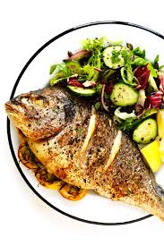 cooked fish images. Unique Fish How To Roast Whole Fish In The Oven For Cooked Images F