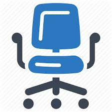 office chair icon. Business, Furniture, Office Chair Icon F