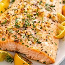 Baked Salmon Recipe - Jessica Gavin
