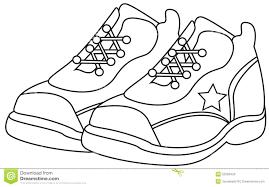 Jordan Shoes Coloring Pages Tonyshume
