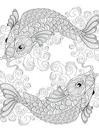 Water Coloring Pages For Adults Dream Fish Ocean Castle Seahorse