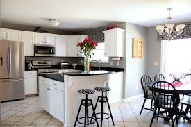 easylovely kitchen wall colors with white cabinets and black honed black countertops