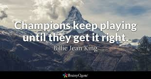 Billie Jean King Quotes BrainyQuote Magnificent King Quotes