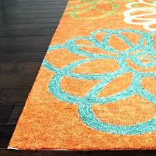 turquoise outdoor rug blue and orange outdoor rug astounding orange outdoor rugs turquoise and orange rug