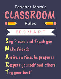 Preschool Class Rules Chart Create A Classroom Rules Poster Postermywall