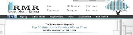 Dcma 27 On Rmr Top 50 Americana Country Album