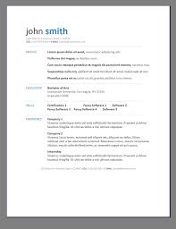 Modern Resume Format Luxury 193 Best Professional Resume Templates