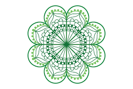 Available in svg dxf eps & png. Four Leaf Clover Mandala Svg Cut File By Creative Fabrica Crafts Creative Fabrica