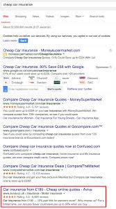 how insurance companies use search marketing aviva econsultancy