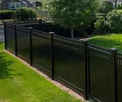 Vinyl fence styles Picket Challenger Fence Inc Vinyl Fence Designs Nj