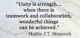 Unity Quotes Extraordinary 48 INSPIRATIONAL TEAMWORK QUOTES Favorite Quotes Pinterest