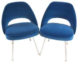 Saarinen Executive Side Chairs, Set of 4 midcentury-dining-chairs