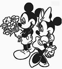 mickey and minnie valentines day coloring pages. Delighful Mickey Mickey And Minnie Valentines Day Coloring Pages 4 For L